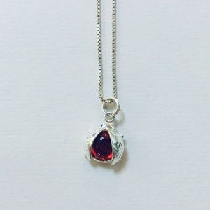 Red Lady Bug Necklace